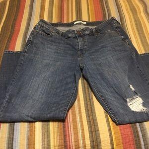 Levi's Boyfriend Jeans Plus size 18
